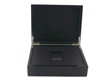 Black Soft-touch Paper Watch Case
