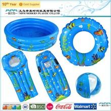 EN71 PVC TPU Inflatable Swim Set for Beach Playing