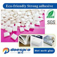 Sensitive plastic eva hot-melt glue for bookbinding