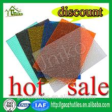 billige durchscheinend geprägt polycarbonatplatten