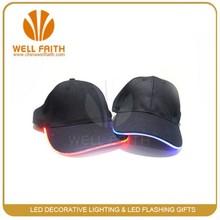LED party items manufacture EL caps,EL flshing caps.EL lighted up caps