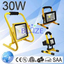 High Brightness 30W Led Rechargeable Light China European Outdoor CRI>80Ra