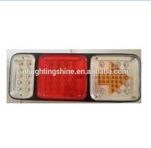12V led stop turn tail light for truck 9v led turn light for trucks 24v LED Bus truck trailer turn signal light