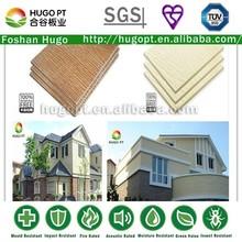 exterior wood grain wall board fiber cement siding (D)