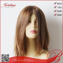 stock selling Top quality Virgin mongolian hair Jewish wig