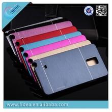 Motomo Aluminum chrome case for Samsung Galaxy Note 4 metal brush case