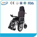 Mina- 6303 nuevo tipo respaldo plegable silla de ruedas ligera
