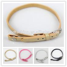 2015 alibba china New Design Popular Pu Leather living locket bracelet
