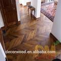 ヘリンボーンアート寄せ木t&g組み換えフローリング寄木張りの床