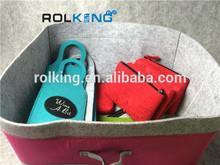 colorful storage spring felt bag