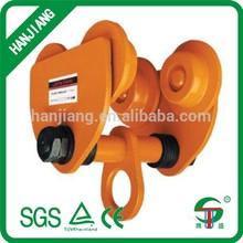 manual geared trolley/weight lifting trolleys