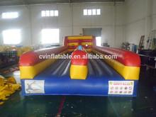 Athletic Inflatable Bungee Run 2 lanes, Kids inflatable bungee run,Runway