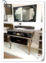 2014 hot selling stainless steel bathroom vanity top cabinet