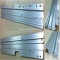 2014 mejor venta de productos de aluminio de sección techo solar perfiles de carril del coche