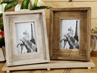 ZAKKA retro wood frame wooden picture frame plastic timber wood frame photo wall Home Decoration
