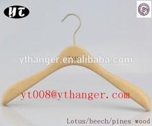 mellow hangers light wood clothing hanger non flocked