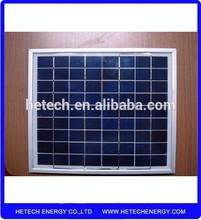 Polycrystalline silicon material 15 watt solar panel for Pakistan
