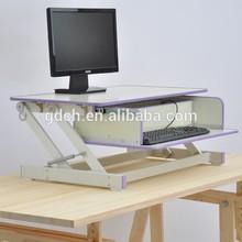 Modern design wooden laptop desk display holder desk stands for office and home