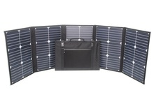 High efficiency 20% 100 Watts folding solar panel with light weight sunpower solar cell