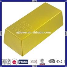 China manufacture promotional pu foam toy/ pu bullion