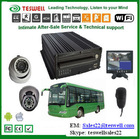 Forderung GPS Bus DVR mit 3G Sim Card Slot Car Kamera/DVR