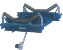 Standard belt conveyor tapered aligning roller, aligning idler set, troughing idler roller group