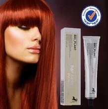 Private label low ammonia best OEM italian professional hair dye