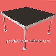 portable stage platform plywood aluminum stage