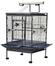 Deluxe parrot bird pet cage metal parrot breeding cage