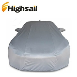 China hot selling PEVA silver coated waterproof vehicle cover