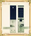 Security digital fingerprint door lock for home