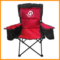 Padding and Folding cooler camp chair