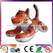 PVC advertising Inflatable tiger cartoon/animal model giant tiger