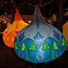 2014 new design inflatable lighting ballon, inflatable lighting tube