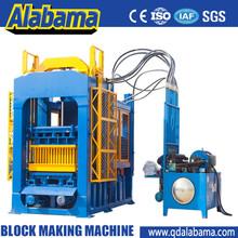 Made in china block making machine price list