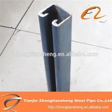 steel profile post in steel C channel/hot rolled c steel/Small steel channel supplier