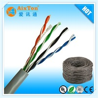 Wholesale solid 4 pair utp 24awg 100Mbps CAT5E cable network