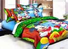 China supplier 100% cotton 3d cartoon kids bedding set,mickey house bedroom set