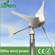600W AC Wind Generators Hybrid Solar Wind Power Generator