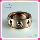 J095 New Products Fashion Jewelry Cheap Price Rings 18k Latest Gold Ring Designs