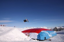 new inflatable jump air bag for skiing en14960