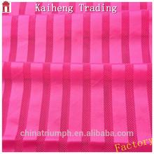 Shaoxing market factory 70D rhombus design bright stripes mesh fabric slim cloth fabric