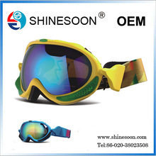 Hot sale dust protective motorcycle anti-fog goggle