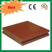 Teak color plastic vinyl flooring outdoor usage flooring