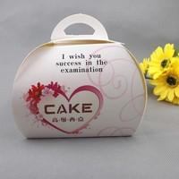 Big folding unique wedding cup cake box design