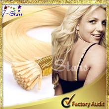 Aliexpress retail 613 blonde russian virgin hair grade aaaa double drawn remy hair i tip