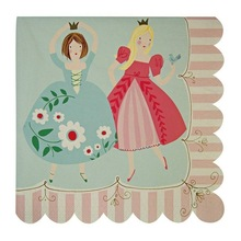 Princess Party Napkins Pretty Girls Party Supplies