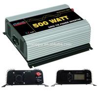 500W Micro Solar Grid Tie Inverter MPPT function LCD display DC 10.8-30V 22V-60V SUN 500G