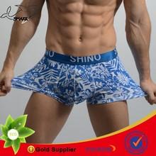 Shark Fashion full printing sexy cotton underwear for man sexy boy without underwear