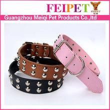 Hot sale fashion PU dog+training+collar dog accessories alibaba china